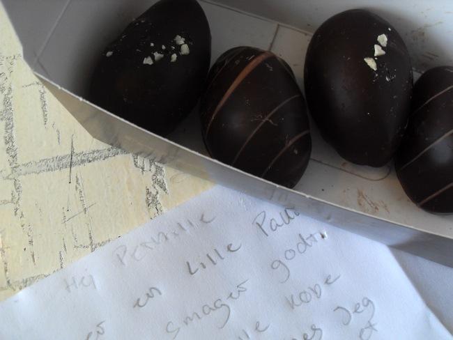 Chokoladeæg fra Emilie