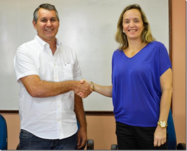 Vargas Solis e Daniella Paiva