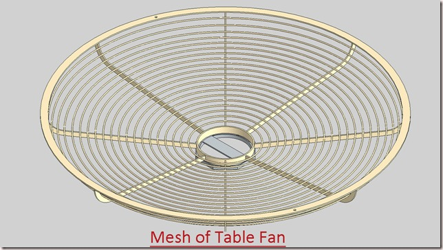 Mesh of Table Fan_2