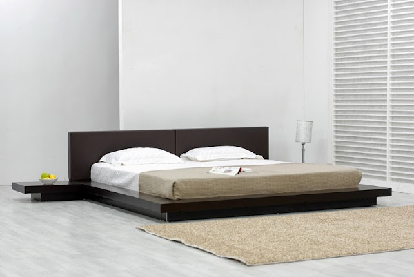 TemptationPlatformBed Modern Platform Bed