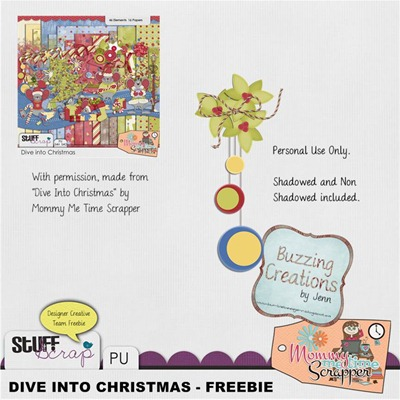 MMTS - Dive into Christmas - Cluster Freebie Preview