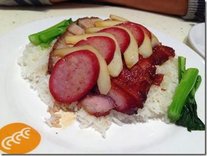 HK style Porky 4-in-1 rice