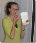 enjoying my cheese curds cropped
