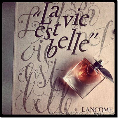 lancome la vie est belle