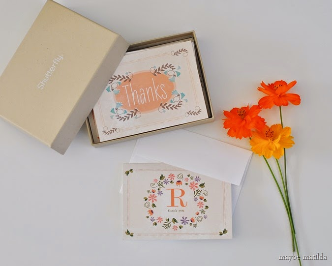 The Lost Art of the Thank You Card // www.maybematilda.com