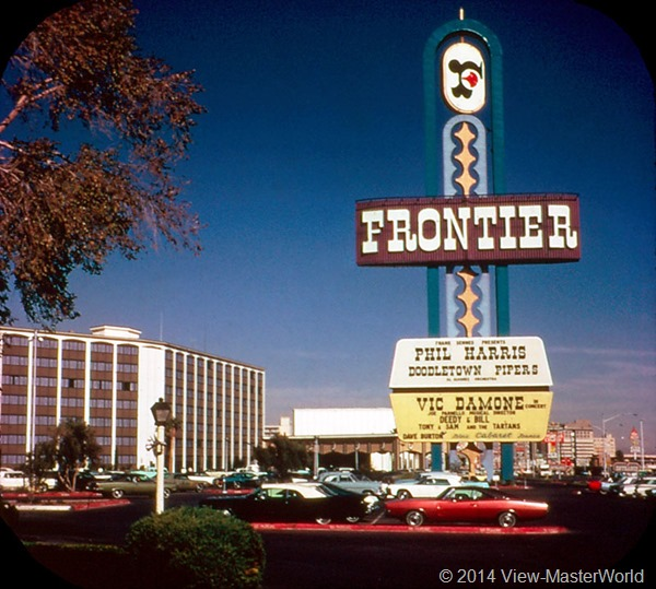 View-Master Las Vegas Nevada A159 Scene 3-4 Frontier Hotel
