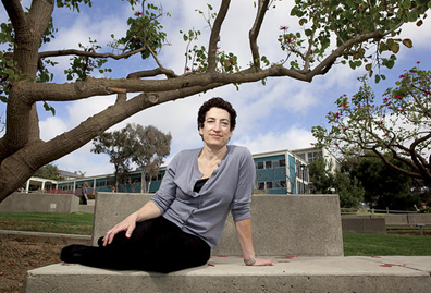 Naomi Oreskes, a historian who studies scientific findings and funding, was drawn into the emotional debate around global warming after she publicly stated that climate change is a settled scientific fact. Will Parson / Special to the Christian Science Monitor