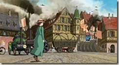 Howls Moving Castle City Streets
