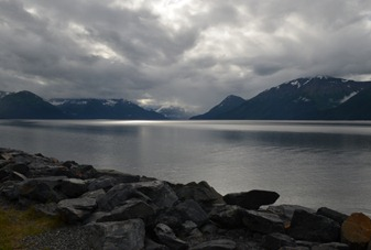 finally, a bit of light on Turnagain Arm