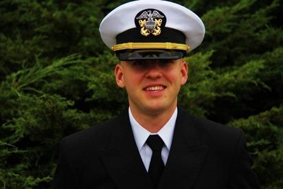 Mark Navy OCS Grad 22