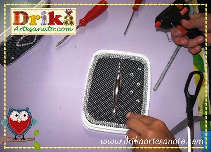 20 Passo a passo de pote de sorvete decorado Drika Artesanato
