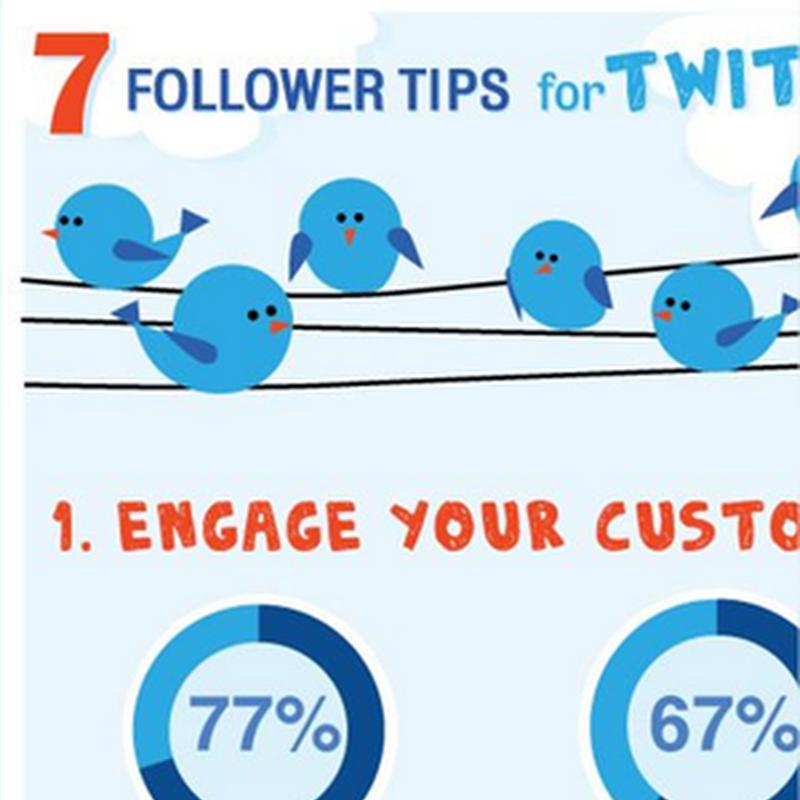 7 tips sencillos para conseguir más seguidores en Twitter