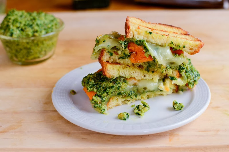 kale pesto gluten free grilled cheese-14323