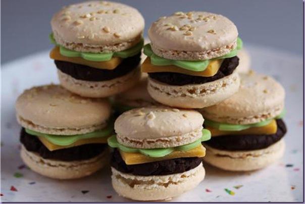 Macarons-Hamburguer