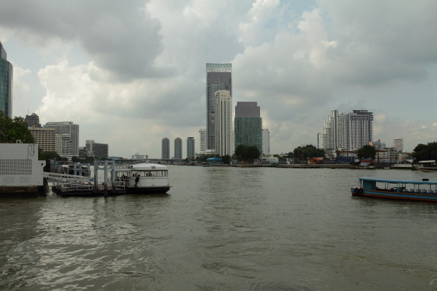 Bangkok View from the Chao Phraya River