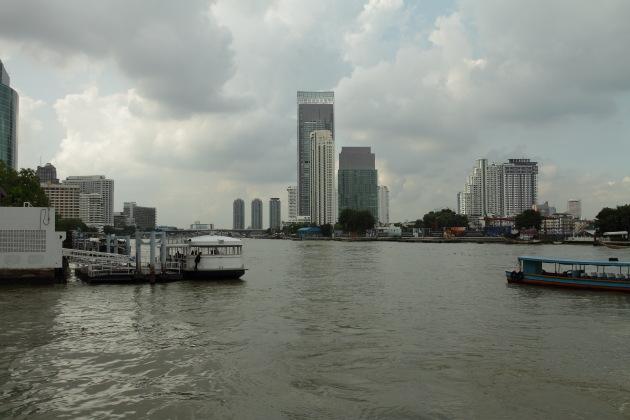 Bangkok View from the Chao Phraya River