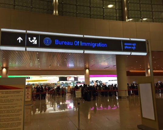 Immigration Entrance