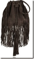 Antik Batik Fringed Drawstring Bag
