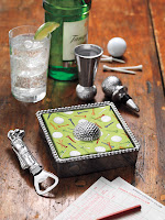 Golf Napkin Box 48.00 Bottle Opener $17.00