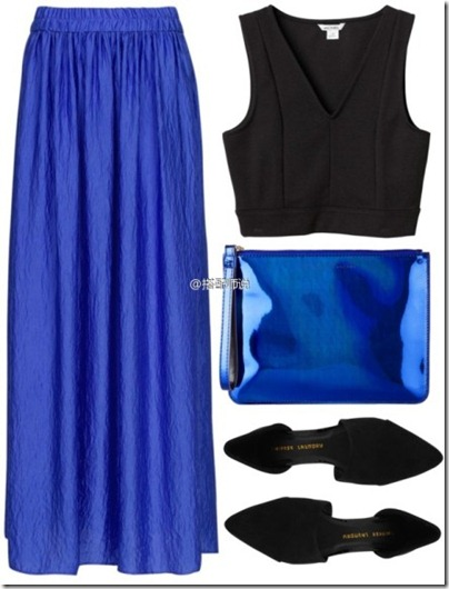 Royal Blue Mix N Match 07