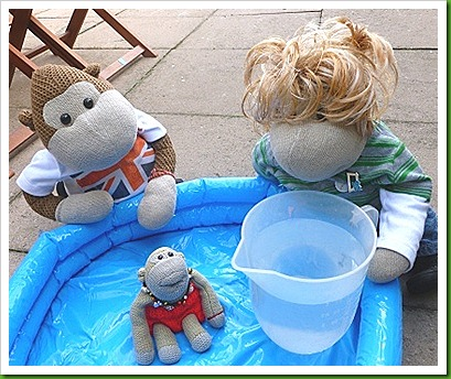 Poundland Paddling Pool.
