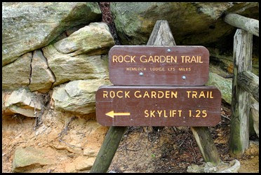 17 - down Rock Garden Trail
