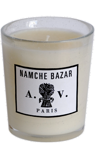 Astier de Villatte Candles. I especially love the Namche Bazar Scent. They are beautifully packaged and burn very nicely. They are available in a unique assortment of eclectic scents and will please any number of friends or family for the holidays. www.astierdevillatte.com