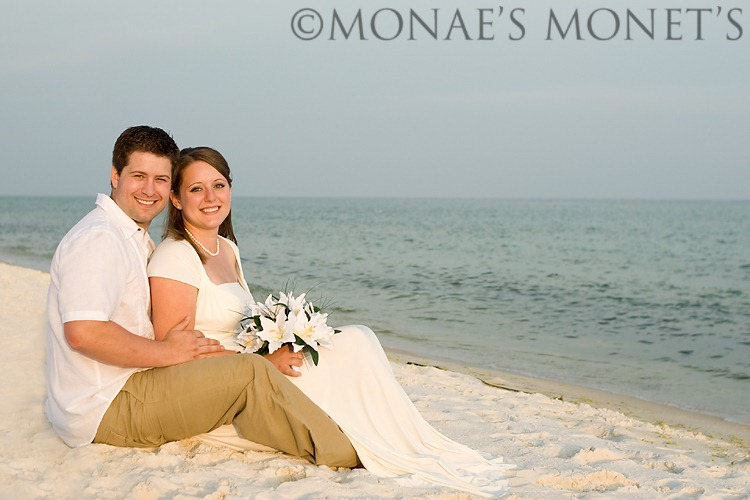 Mike and Desirea by beach 2 blog