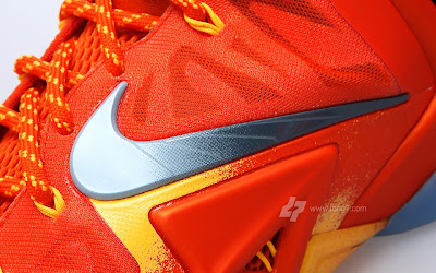 nike lebron 11 gr atomic orange 2 06 forging iron A Sizzling Look at Nike LeBron XI Forging Iron