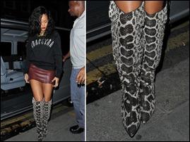 Rihanna porta boate