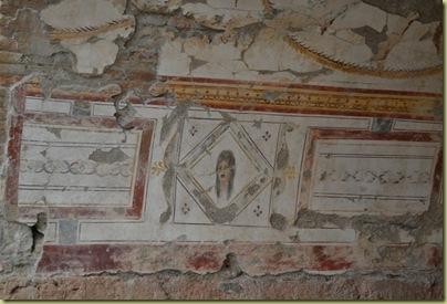 Ephesus House wall painting adjacent to great hall