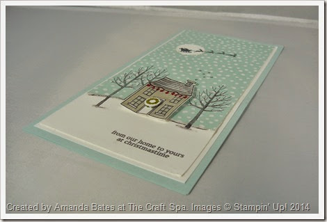 Holiday Home & White Christmas DL Card, Amanda Bates at The Craft Spa (2)