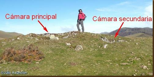 Dolmen de Mediaundi - Túmulo y cámaras