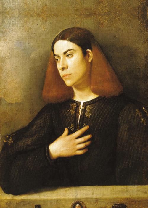 Giorgione ritratto di giovane
