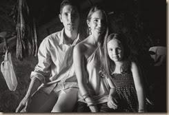 Os pais da Diana e ela