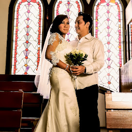 Sony & Wulan by Lazy Painter - Wedding Bride & Groom (  )