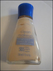 Covergirl Oil Control Clean Makeup