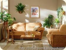 Цветы и вазы-кашпо в декоре интерьера 2