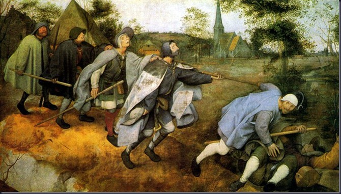 Brueghel,blind leading the blind