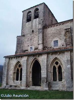 San Vicente de Larumbe - fachada