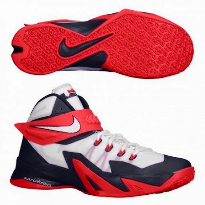 nike zoom soldier 8 gr usa basketball 1 01 Upcoming Nike Zoom Soldier VIII USAB With Zip up Strap System
