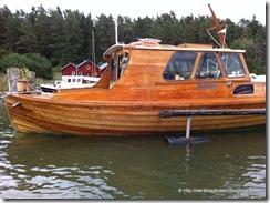 Motorbåten Mynta