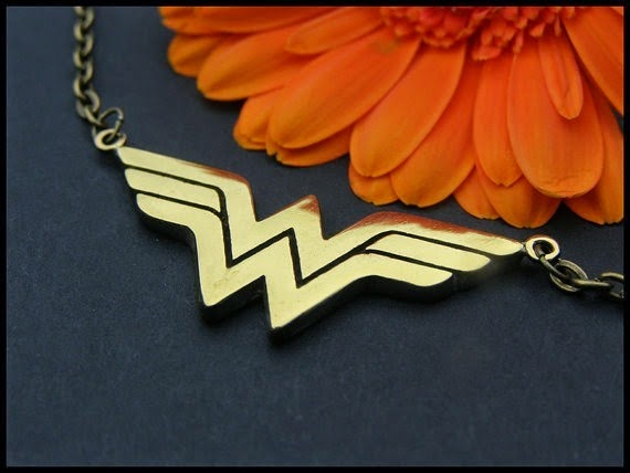 Wonder Woman Necklace from Baldur Jewelry