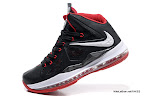lbj10 fake colorway black white red 1 03 Fake LeBron X