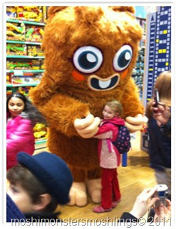 Moshi Monsters Tour US Malls schedule