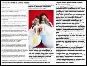 FARM MURDERS GROWING MORE SADISTIC BLOOD SISTERS DEC12012