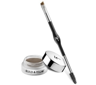IT Cosmetics Build-A-Brow 24hr Waterproof 5 in1 Creme Gel Stain w Brush