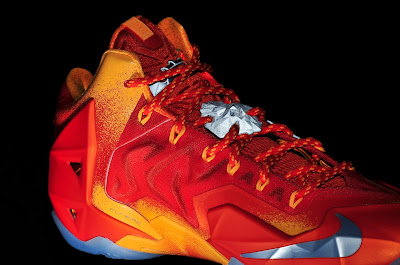 nike lebron 11 gr atomic orange 4 12 forging iron New Look at Forging Iron LeBron XI and Its Sick Packaging!