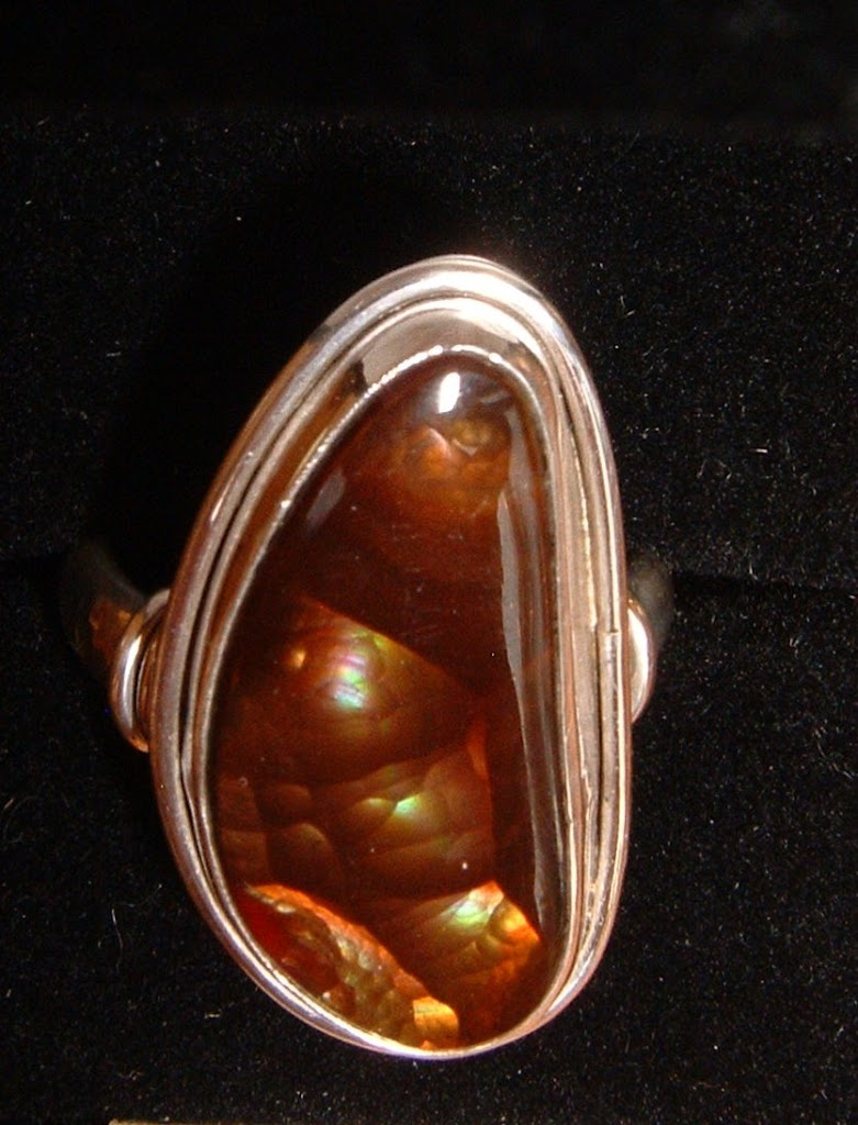 Fire Agate Ring.....SOLD