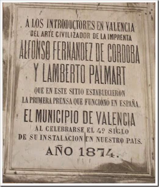 Placa Portal de Valldigna